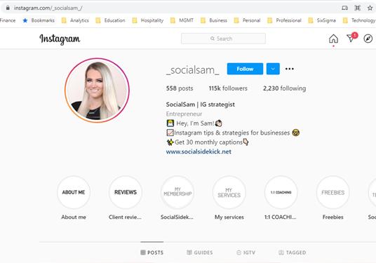 _socialsam_ Instagram handle